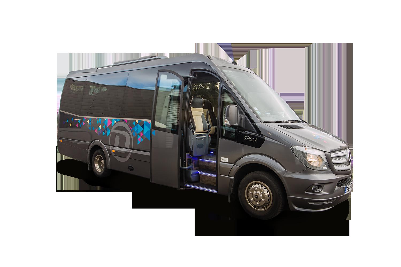 Excursions en véhicule 9 places, grand tourisme et tout confort, pour vos séjours touristiques avec Deltour Autocars